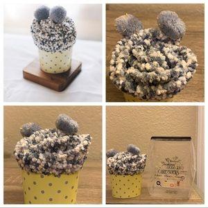 3 for $20 NWT Cozy Gray Cupcake Socks